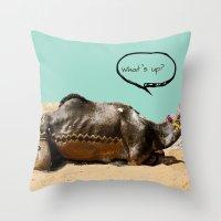 Pushkar fair chillout Throw Pillow