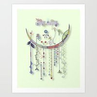 Peace of the Innocent Art Print