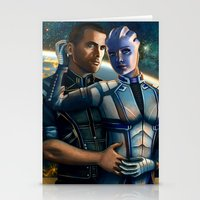 Mass Effect - Always Her… Stationery Cards