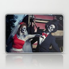 Day Of The Dead Wedding Day Argument Laptop & iPad Skin