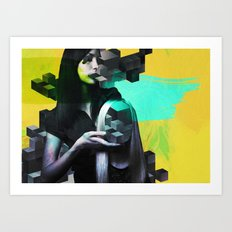 Anonymphs Art Print