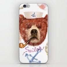 Mr.Bear iPhone & iPod Skin