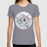 Universe in Progress Womens Fitted Tee Slate SMALL