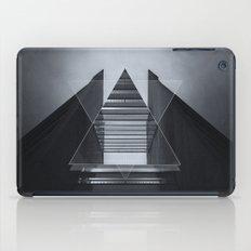 The Hotel (experimental futuristic architecture photo art in modern black & white) iPad Case