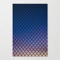 Scaled Fence Canvas Print