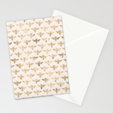 Honey Bees (Sand) Stationery Cards