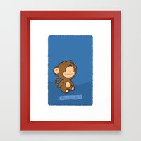 Happiness Is A Clear Nig… Framed Art Print