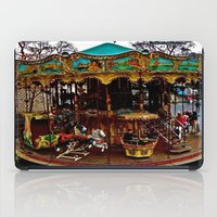 Merry Go Round Paree iPad Case