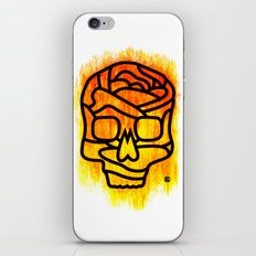 Skull Rose iPhone & iPod Skin