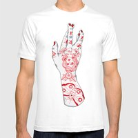 Work It Mens Fitted Tee White SMALL