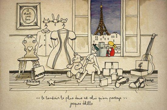 Toys Love Story Art Print