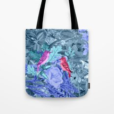 blue&birds Tote Bag