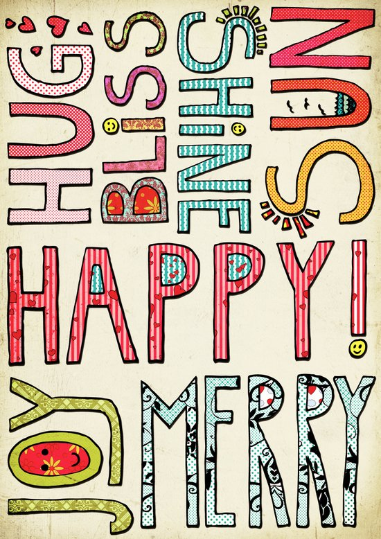My Happy Life Art Print