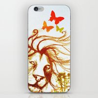 Beast and the Butterflies iPhone & iPod Skin