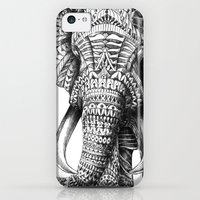 iPhone 5c Cases featuring Ornate Elephant by BIOWORKZ