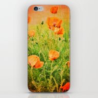 iPhone & iPod Skin featuring POPPIES by Teresa Chipperfield …