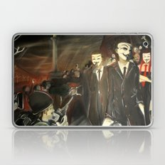 except us - Anonymous Laptop & iPad Skin