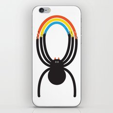 Spiders Are Rainbows iPhone & iPod Skin