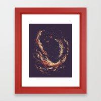 Cosmic Smoke II Framed Art Print