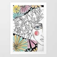 Art Print featuring The Ones We Love Are Nev… by Denthe