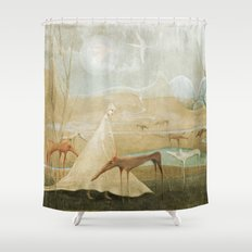 Finding Solace Shower Curtain
