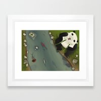 pppanda! Framed Art Print