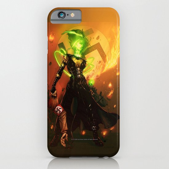 Anne Frankenstein AF1 iPhone & iPod Case