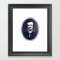Poe Framed Art Print