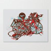 FIX TRIP ~ GREY Canvas Print