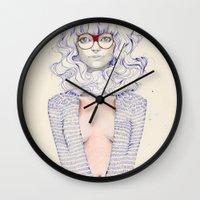Hair Play  Wall Clock
