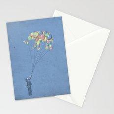 The Lightest Elephant Stationery Cards