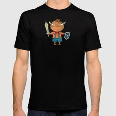 NI NO KUNI : THE FIRST FAMILIAR Mens Fitted Tee Black SMALL