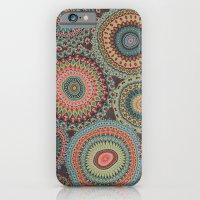 Boho Patchwork-Vintage colors iPhone 6 Slim Case