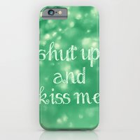 iPhone & iPod Case featuring Shut Up and Kiss Me by Beth - Paper Angels Photography