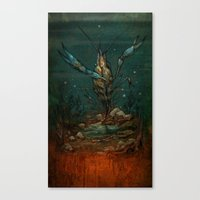 Crooked Creek #1 Canvas Print