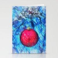Xmas Decoration  Stationery Cards
