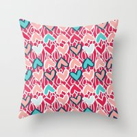 Valentine Throw Pillow