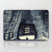 Life WITH Art & Life Wit… iPad Case