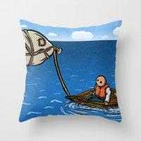 Alternative Travel Throw Pillow