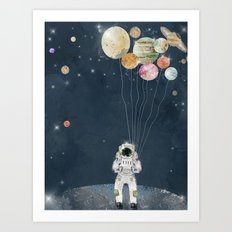 solar collector  Art Print