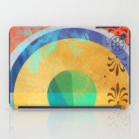 Half Quater Hue iPad Case