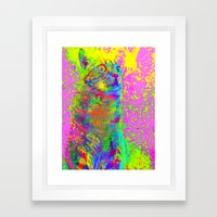 Catsplosion-Lady Jasmine Framed Art Print