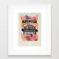 The Invincible Summer Framed Art Print