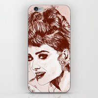 Love for Audrey iPhone & iPod Skin