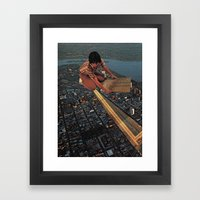 The Circuits Framed Art Print