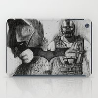 Bat In Black (The Dark Knight Rises) iPad Case