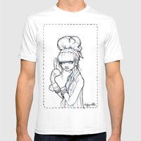 The Puppet Master Mens Fitted Tee White SMALL