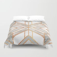 Geo Marble Dream Duvet Cover