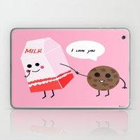 Milk and cookie love  Laptop & iPad Skin