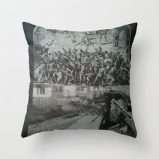 Forced Rejection Throw Pillow